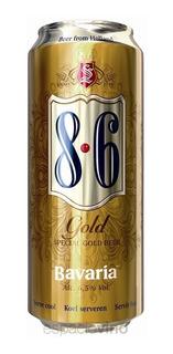 Cerveza Bavaria 8.6 Gold Lata 500ml 6.5 % Graduaciòn