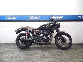 Triumph Bonneville T 100 2013 Preta