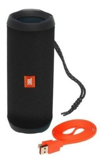 Caixa De Som Jbl Flip 4 Preta Caixa Bluetooth Portátil Caixinha De Som Jbl Charge É Sem Fio Original Caixa De Som