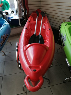 Kayac Island King T2 Para 2 Personas Incluye 2 Remos Dobles