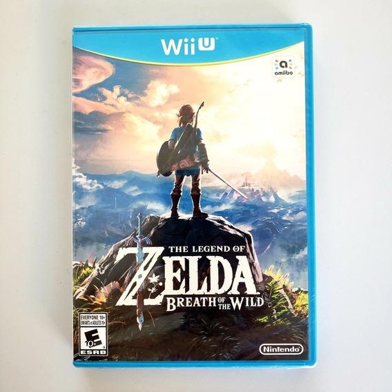 Legend Of Zelda Breath Of The Wild Original Nintendo Wii U