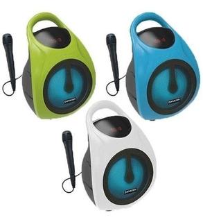 Parlante Portátil Panacom Sp-3050 Cm Bluetooth Con Microfono