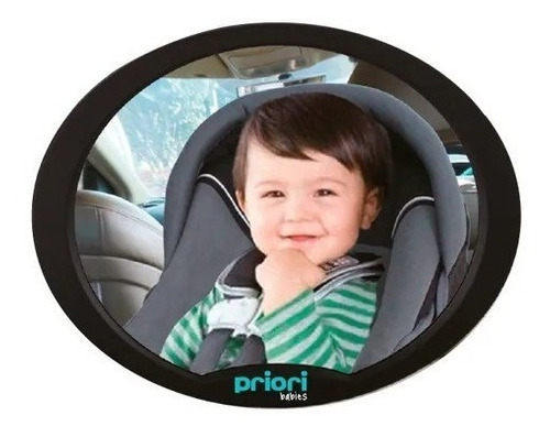Espejo Retrovisor Ovalado Auto Bebé Priori Pp 1604