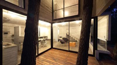 alquiler mar azul casa de diseo minimalista en hormigon