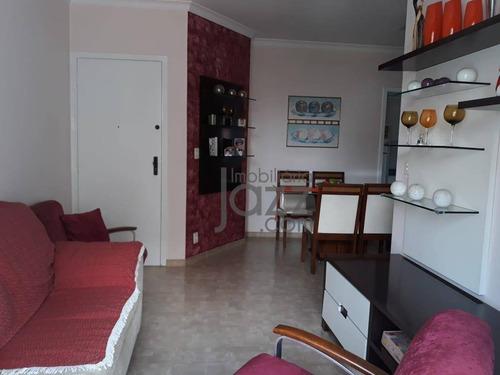 Belo E Espaçoso Apartamento Com 2 Dormitórios À Venda, 67 M² Por R$ 320.000 - Centro - Campinas/sp - Ap2562