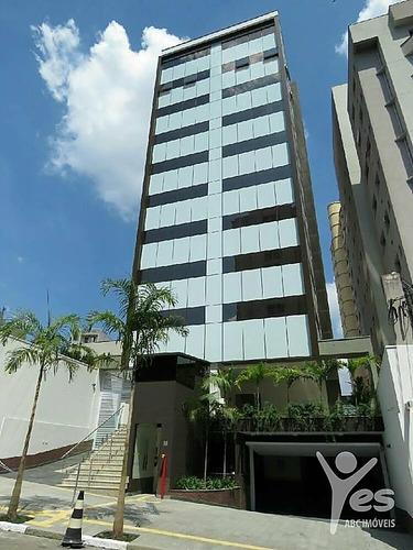 Imagem 1 de 5 de Ref.: 8047 - Sala, 80 M², 02 Vagas De Garagem,  Centro, Santo André - 8047