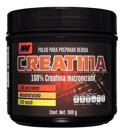 Creatina Monohidratada Advance Nutrition 100 Porciones