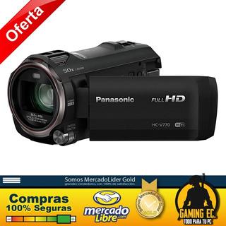 Videocámara Panasonic Full Hd Hc-v770 Zoom Óptico De 20x