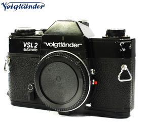 Câmera Voigtlander Vcl 2 Automatic Black Reflex 35mm - Corpo