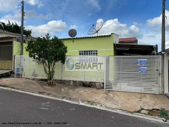 Casa Para Venda Em Pirapozinho, Residencial Natal Marrafon, 3 Dormitórios, 1 Banheiro, 2 Vagas - 4169_1-1399664