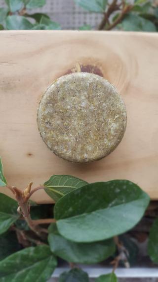Shampoo Sólido Orgánica Para Cabellos Secos - Sin Caja