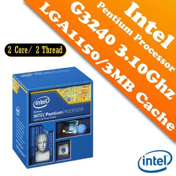 Processador Intel Pentium Dual Core G3240 3,1ghz, 3mb 1150