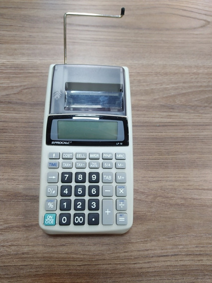 Calculadora Eletrônica Procalc Lp 19