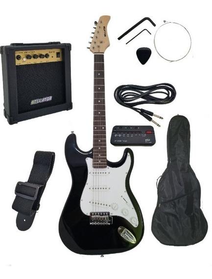 Paquete Guitarra Eléctrica Bellator Todo Inlcuido Hot Sale !