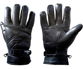 Luva Proteção Mãos Moto Motociclista Masc Couro Lumica 215