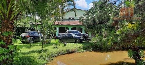 Imagem 1 de 28 de Chácara Com 3 Dormitórios À Venda, 7790 M² Por R$ 700.000,00 - Bambu - Peruíbe/sp - Ch0157