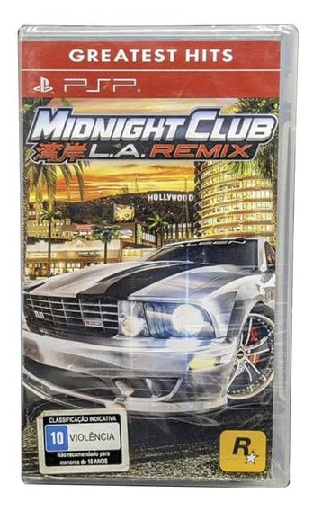 Midnight Club Psp Jogo Mídia Física Original