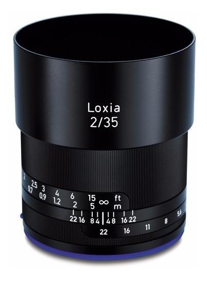 Zeiss Loxia 35mm F/2 Lens Para Sony E