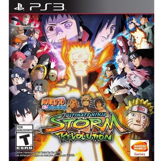 Naruto Shippuden Ultimate Ninja Storm Revolution Ps3 ( No Cd