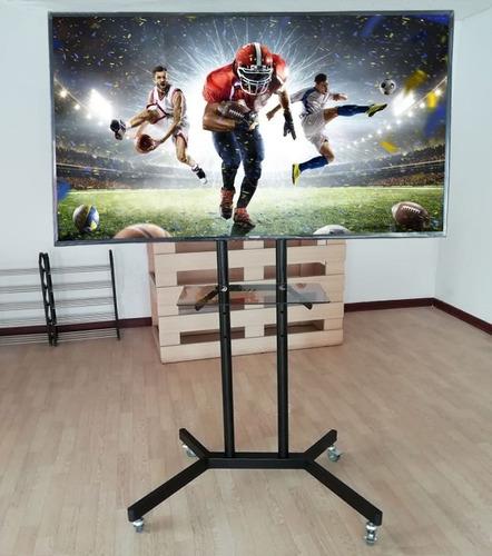 Rack Pedestal Tv 32 A 65 / Lcd Led Curvo..soporta 100 Kilos