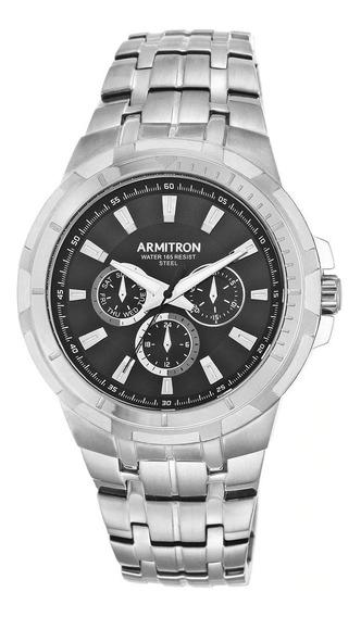 Reloj Armitron Plateado Para Hombre