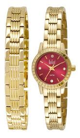Relógio Feminino Análogico Dumont Du2035lnr 4x - Dourado