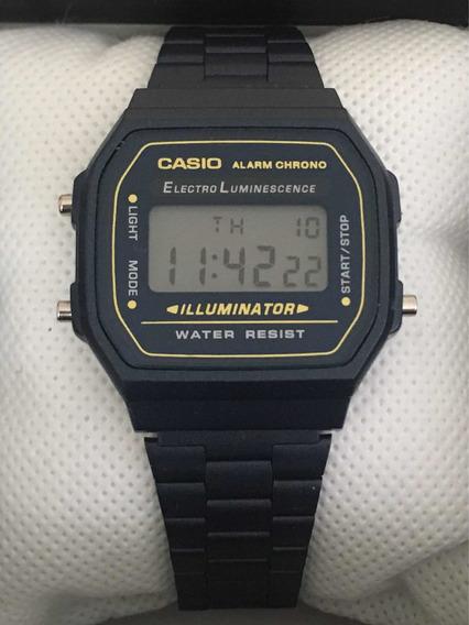 Reloj Casio A168 Azul Marino Mayoreo