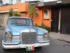 Mercedes Benz 220s 1964 En Buen Estado Para Restaurar