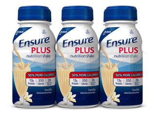 Suplemento Ensure Plus Sabor Vainilla