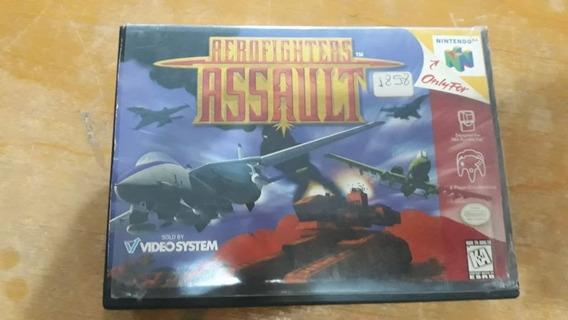 Aerofighters Assault - Nitendo 64 Original Com Caixa