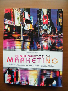 Fundamentos De Marketing Por William Staton, Michael Etzel