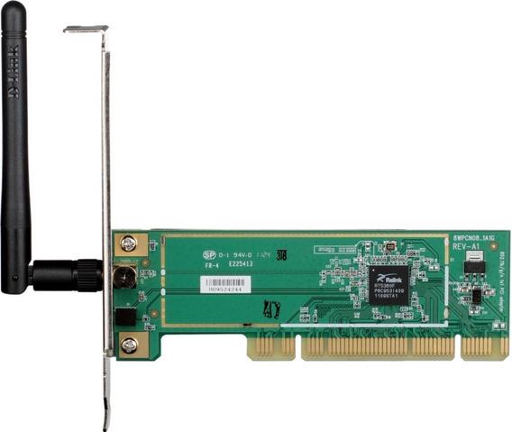 Tarjeta De Red Pci Wifi N150 D-link Dwa-525