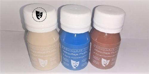 Imagen 1 de 1 de Body Paint Al Agua Maquillaje Titi 30cc - Natural