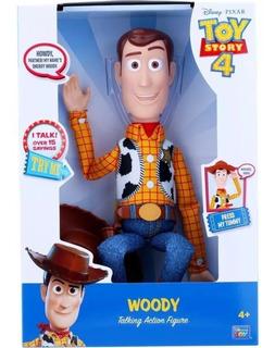Woody Toy Story 4 Figura De Acción Parlante Cachavacha