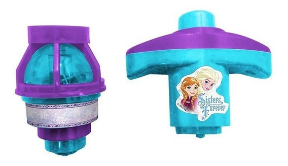 Pião Luminoso Frozen Disney - Etitoys