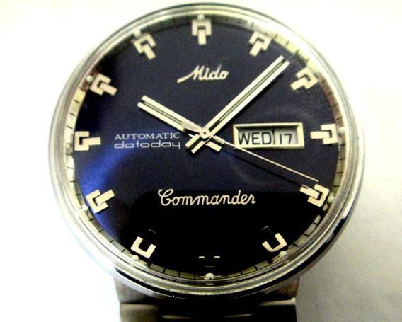 Relógio Mido Commander Automático Calndário Duplo