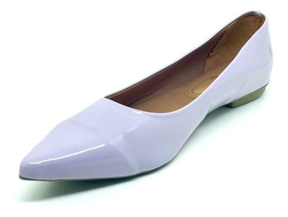 Sapatos Femininos Sapatilha Bico Fino Alongado Cores Dani K