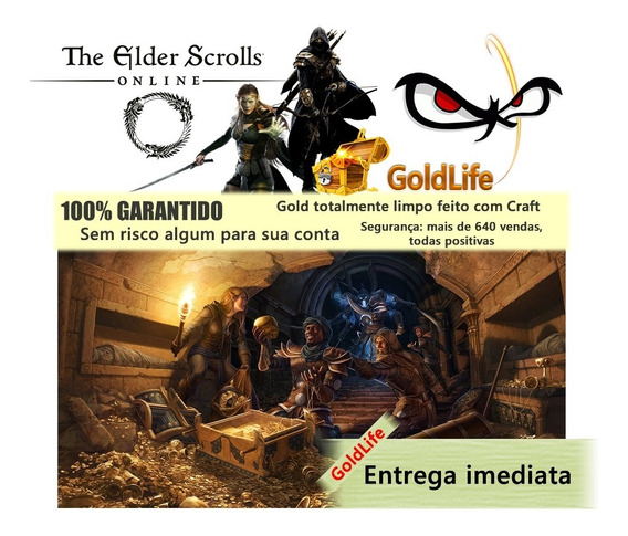The Elder Scrolls Online Gold Pc Na 1kk (1 Milhão) Eso Gold