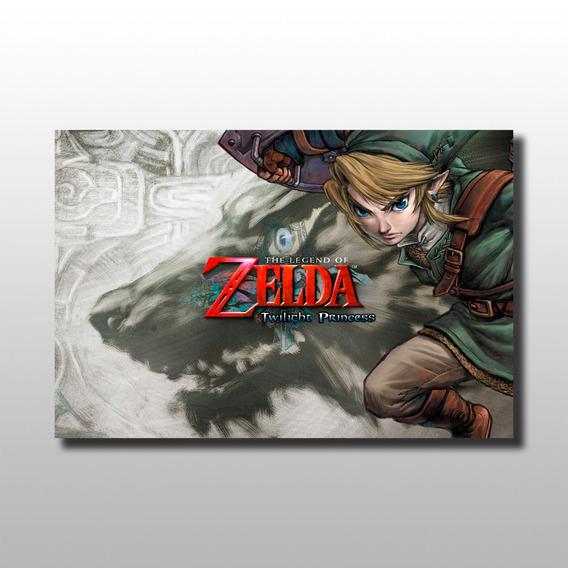 Placa Decorativa Zelda Decoração Personagem Nintendo Mdf