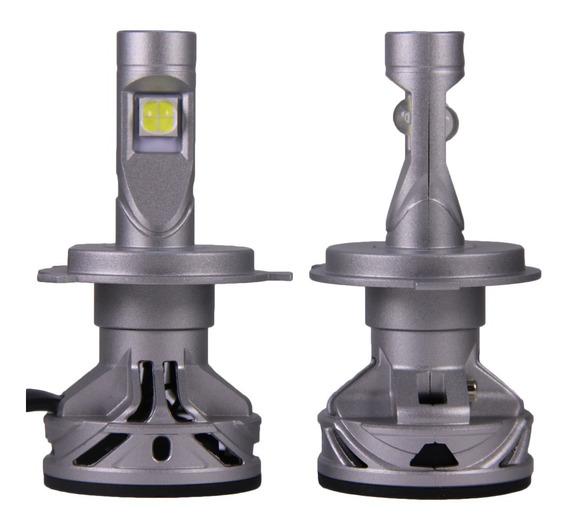 Par Lâmpada Farol 13.200 Lm Led Xhp70 H4 H11 Hb3/4 H8 H16 H7