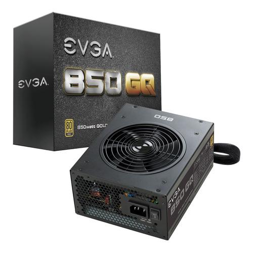 Fuente De Poder Gamer Evga 850 Gq, 80plus Gold 850w