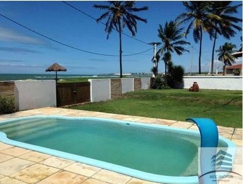 Casa De Praia Beira Mar A Venda Em Graçandú