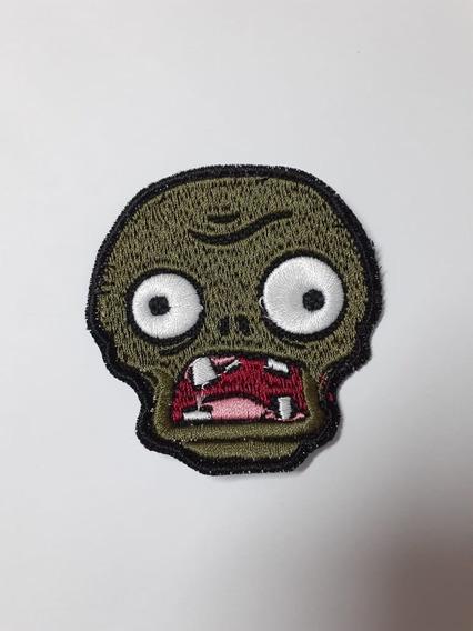 Parche Bordado Zombie Base Plantas Vs. Zombies