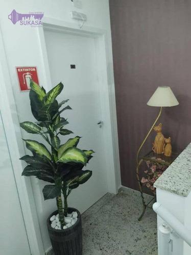 Cobertura À Venda, 100 M² Por R$ 320.000,00 - Jardim Do Estádio - Santo André/sp - Co0495