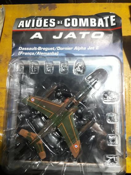 Miniatura Jato De Combate Alpha Jet