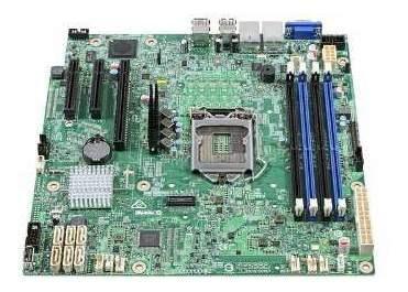 Placa Mãe Servidor Intel Dbs1200spsr Xeon Ddr4 Udimm Lga1151
