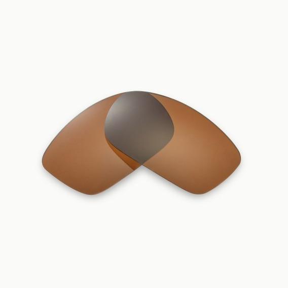 Lentes Para Oakley Gascan Gold M Polarizada Mega Proteção