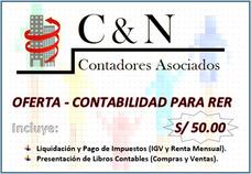 C&n Contadores Asociados - Ofertas Rer Y Mype