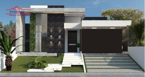 Imagem 1 de 3 de Casa Com 3 Dormitórios À Venda, 165 M² Por R$ 1.250.000,00 - Condomínio Shambala Iii - Atibaia/sp - Ca4340