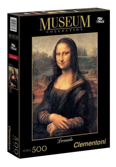 Monalisa Gioconda 500p Da Vinci Rompecabezas Clementoni